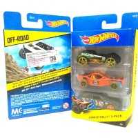 Hot Wheels 3 Pack Jungle Rally