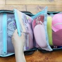 Travel Partition Bag / Tas Penyimpanan Partisi Traveling / Organizer