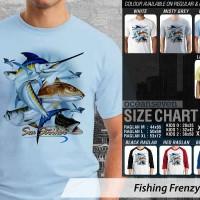 harga Kaos Fishing Frenzy 10 Mancing Mania Tokopedia.com