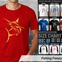 harga Kaos Fishing Frenzy 12 Mancing Mania Tokopedia.com