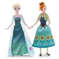 DISNEY STORE US Limited Edition - Anna and Elsa Dolls Summer Solstice