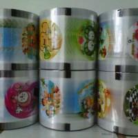 harga CUP LID SEALER / TUTUP PLASTIK ROLL LID BERGAMBAR Tokopedia.com
