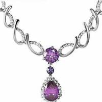 Necklace Austria crystal