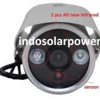 CCTV outdoor model bullet water proof tanpa perlu DVR, cukup rekam dengan micro SD