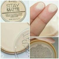 Jual Rimmel Stay Matte Pressed Powder - Transparent Murah