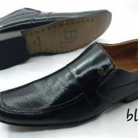 harga Sepatu Bally Pantofel Black Tokopedia.com