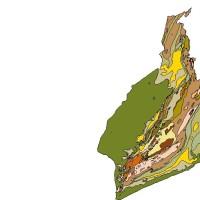 Peta Geologi Kalimantan Selatan (Digital+Legenda)