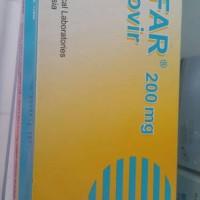 acifar aciclovir 200 mg