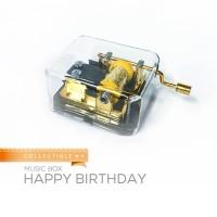 Kotak Musik / Music Box impor klasik Made in USA Happy Birthday