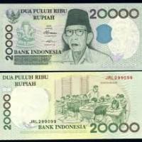 harga Uang Kuno 20.000 Rupiah Rp. 20000 Ki Hajar Dewantara Kertas 1998 Mahar Tokopedia.com