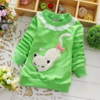 Kitty Sweater Green
