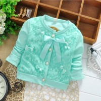 Lace bow Cardigan Tosca