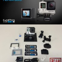 GoPro HERO4 Silver > Ori&Resmi Hi-Perform & Touch Display + BONUS