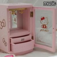 harga Kotak Musik Music Box Lemari Hello Kitty On-off Tokopedia.com