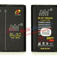 Baterai Idol Nokia Bl-5c N70 / 1280 / C2-03 / 105 / 205 / 220 / X2-01
