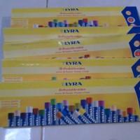 Oil Pastel Brand LYRA Jumbo 28 pcs dia 11mm, Premium quality, Germany