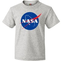 tshirt NASA GREY