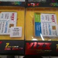 Baterai Vizz Double Power Lenovo A706 A516 A820 A760 A738 2800mah