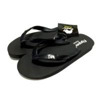 Male Fipper Slipper Classic Black Black