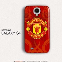 Manchester United Red Devil Logo Samsung Galaxy S4 Custom Hard Case