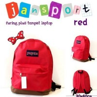 ransel jansprot red 30 x 40 cm