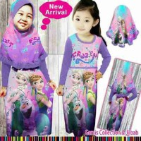 Gamis Anak Frozen Little Pineapple