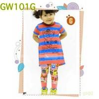 sale baju stelan anak import branded GW size big