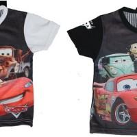 Kaos Baby Printing CARS (6 bulan -  2 tahun)