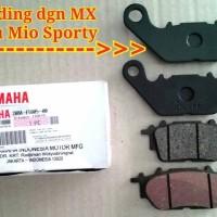 Diskpad / Brakepad / Kampas Rem Depan Mio M3 ORIGINAL