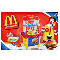 Mainan Masak Kitchen Set McD