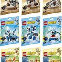 LEGO MIXELS SERIES 5 _  FULL SET 9 FIGURES