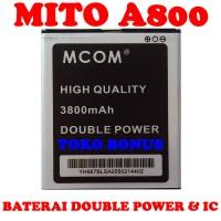 Baterai Mito A800 Double Power M COM
