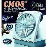 Lampu Emergency LED + Fan Big Heavy