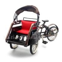 harga Miniatur Becak Jawa / Becak Jogja / Becak Surabaya 29x20x10 cm Tokopedia.com