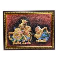 harga Lukisan Rilief / Lukisan 3D/Lukisan Timbul Wayang Punokawan 42x32cm Tokopedia.com