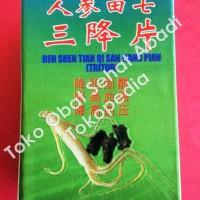 Ren Shen Tian Qi San Jiang Pian (Obat kolesterol, dan hipertensi)