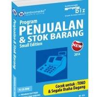 Bamboomedia - Program Penjualan & Stok Barang Small Edition New 2015