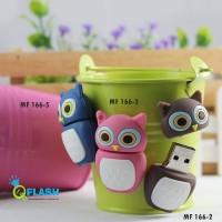 USB Flashdisk karakter Owl Color 4GB