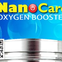 Nanocard Oxygen Boster + Penghemat bbm + Peningkat akselerasi mobil