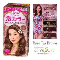 Liese Prettia Japan New Packaging #Rose Tea Brown