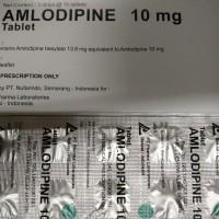 Amlodipine 10mg - Pharma Laboratories - Obat hipertensi
