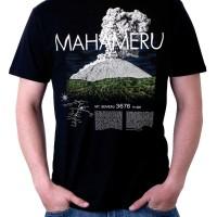 T Shirt Ki Rangan Semeru C Size XL