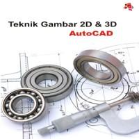 harga Gambar 3D Teknik Mesin dg AutoCAD Tokopedia.com