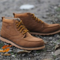 sepatu d-island boots brown muraahh