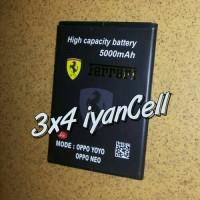 Baterai/battery Oppo Neo/yoyo (blp565) 5000mah