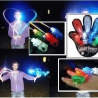 harga 1 pak isi 4 pcs LED FINGER LASER BEAM LIGHT Magic Lampu Disco Souvenir Tokopedia.com