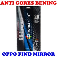 harga Antigores Oppo Find Mirror Bening Costanza Anti Gores Clear Gloss Cr 1 Tokopedia.com
