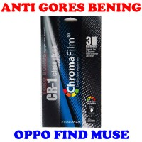harga Antigores Oppo Find Muse Bening Costanza Anti Gores Clear Gloss Cr 1 Tokopedia.com