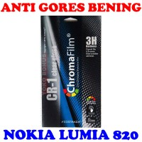 Antigores Nokia Lumia 820 Bening Costanza Anti Gores Clear Gloss Cr 1