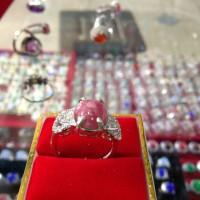 harga cincin wanita red borneo super ikat perak Tokopedia.com